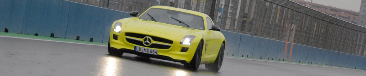 Mercedes-Benz SLS E-Cell