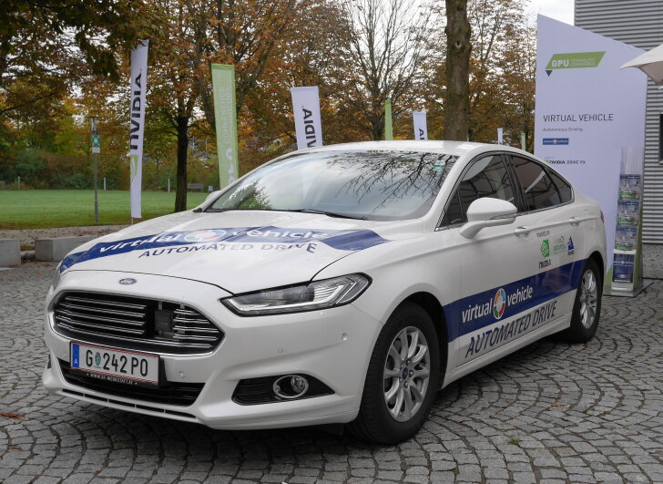 Ford Mondeo - virtual vehicle